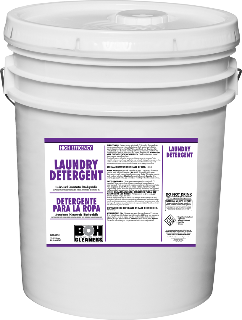 Laundry Detergent 5 Gallon Back Of The House Cleaners